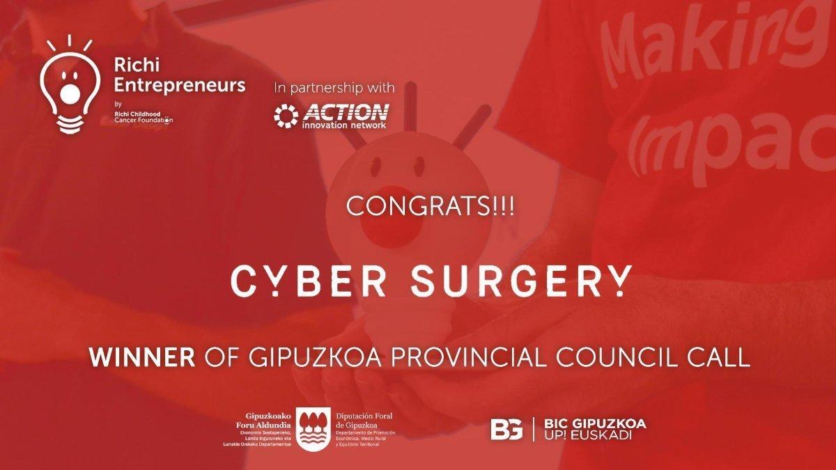Cyber Surgery Richi Entrepreneurs